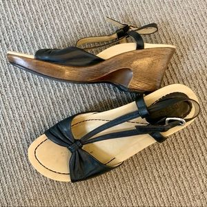 Dansko Strappy Wedge Sandals
